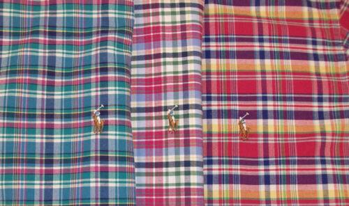 Polo Ralph Lauren Bold Plaid Classic Fit Oxford Shirt $89-98 Pink Purple Grn NWT