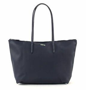 LACOSTE-L-12-12-Concept-L-Shopping-Bag-Tasche-Schultertasche-Eclipse-Blau
