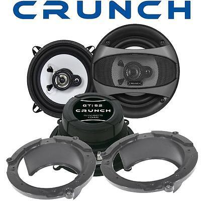 Kreativ Crunch Lautsprecher 13cm & Adapterringe Für Mazda 2 Fronttüren Chinesische Aromen Besitzen Auto & Motorrad: Teile