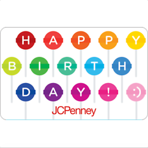 11cc65493 JCPenney Gift Card Lollipop  25  50 or  100 - Email delivery