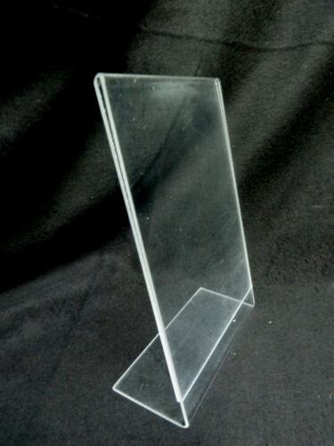 5 Preisschild DIN A5 hochformat gebraucht L-Ständer Tischständer Plexi Acryl
