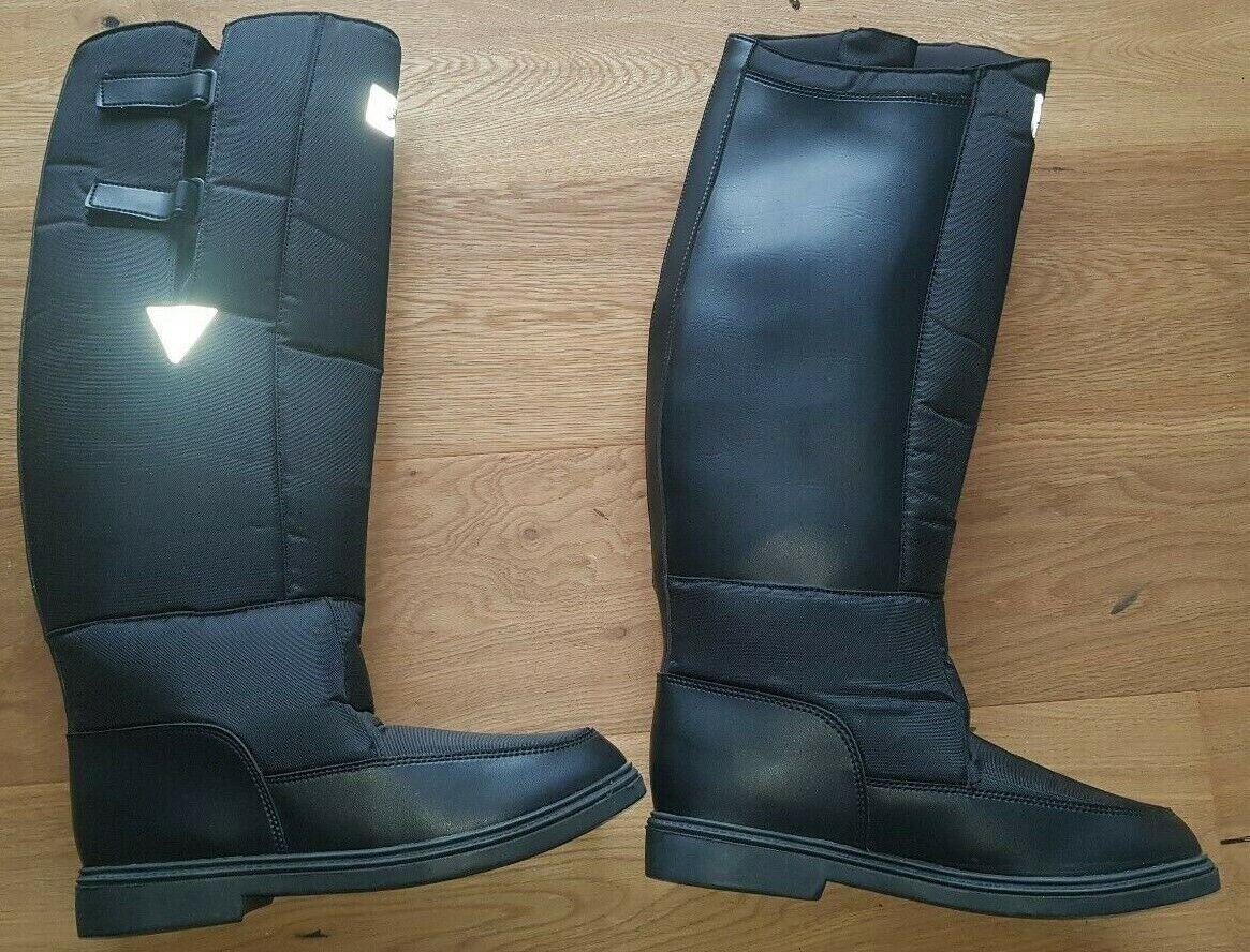 botas de nieve thermoreitbotas steeds winterrider negro (10) nuevo