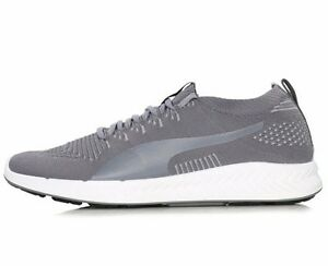 sale retailer 0a590 1beed Details about PUMA IGNITE EVOKNIT 3D TRAINERS - GREY / WHITE - 189909-04 -  EU 42, 43 - UK 8, 9