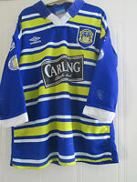 Leeds Rhinos 1990-1991 Match Worn Home Rugby League Shirt XL / 40212