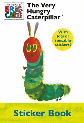 The Very Hungry Caterpillar Sticker Book A4 Eric Carle Rrp £5.00 Age 3+ Nieuwste Technologie
