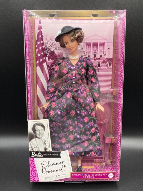 Barbie Eleanor Roosevelt Inspiring Women Series Doll / New