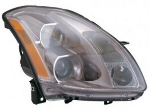 New-right-passenger-headlight-head-light-fit-2004-2005-2006-Maxima-sedan