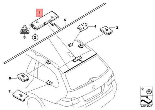 For BMW Genuine Antenna Amplifier 65209183563