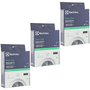 ELECTROLUX-Super-Deep-Clean-Washing-Machine-Cleaner-amp-Degreaser-x-3