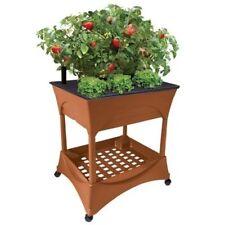 Easy Pickers - Raised Patio Garden Grow Box, Accessory Shelf w/Base For Waist