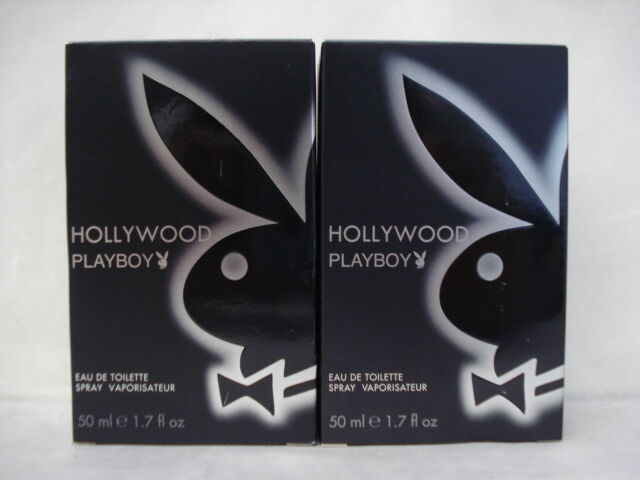 2 Coty Hollywood Playboy Eau De Toilette Spray 17 Oz Ebay