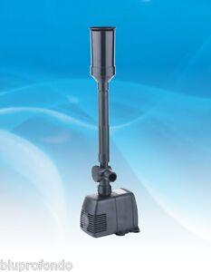 Helpful Pompa Filtro Per Laghetto Con 4 Giochi 1800 Lt/h Pumps (water) hj1843 Fontana