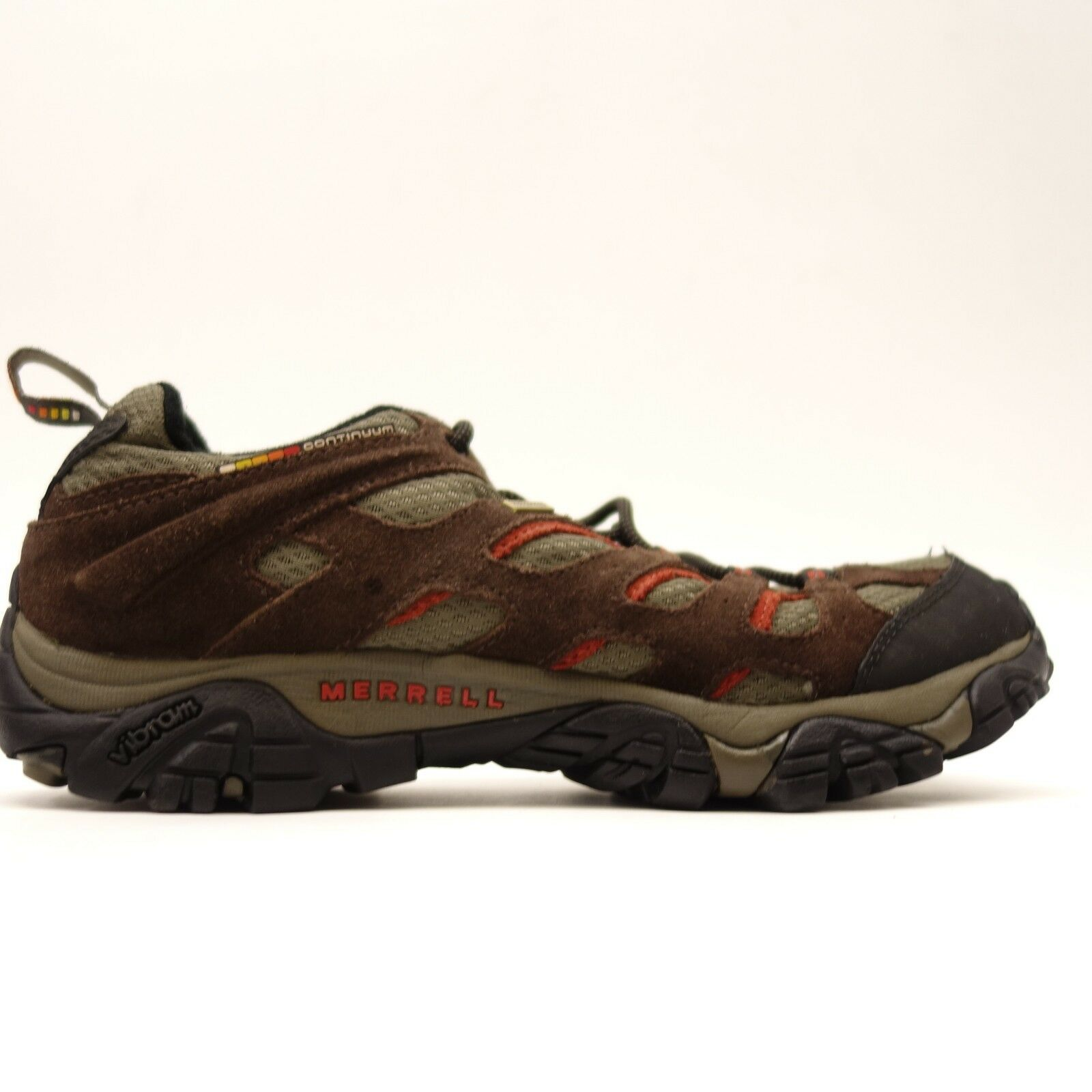 Merrell Mens Moab Low Waterproof Athletic Support Hiking Trail shoes Size 9.5