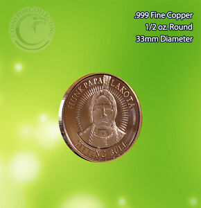 "/""Year of the Dragon/"" 1 oz .999 Copper Round Limited and Rare"