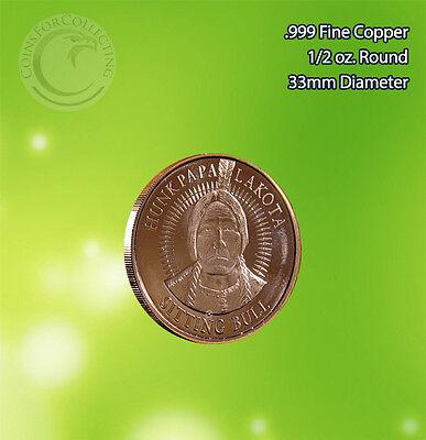 Lakota 1 Oz Copper Round