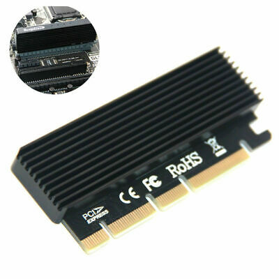 M.2 NVMe SSD NGFF to PCIE 3.0 X16 Adapter M Key Interface C7F2 SPEED Card F Q1I4