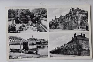 27230-Foto-AK-RIESA-Ansichten-Pionier-Kaserne-Stadtpark-Bruecke-1935