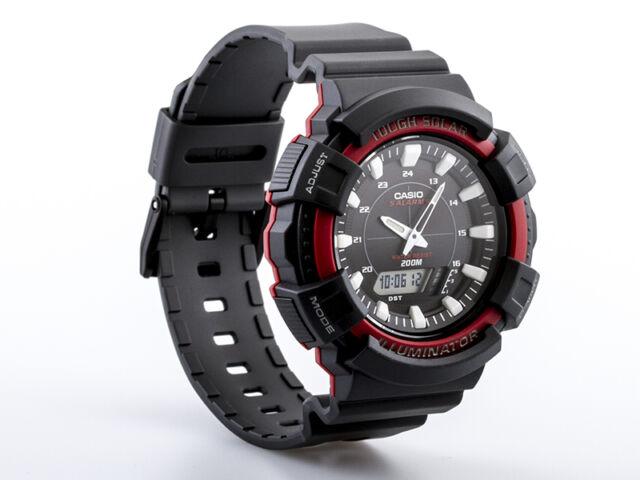 Casio Herrenuhr Solar Uhr AD-S800WH-4AVEF