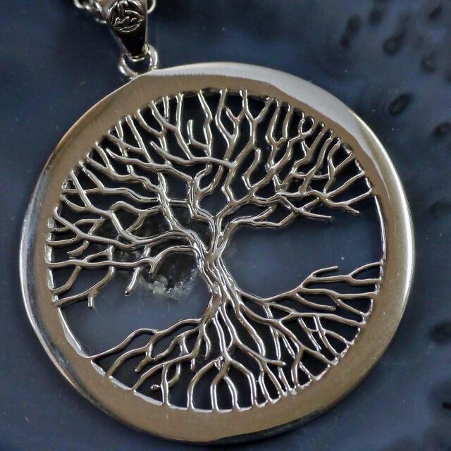 Peter Stone Wicca Tree of life Lebensbaum Weltenbaum Yggdrasil 925Silber Kelten