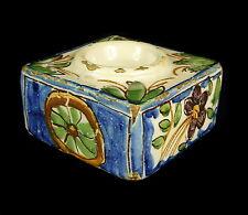 Encrier ancien en céramique Inkwell Tintenfass tintero 9 cm 343 g