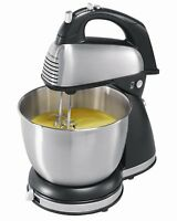 Hamilton Beach 64650 6-speed Classic Stand Mixer Stainless Steel on sale