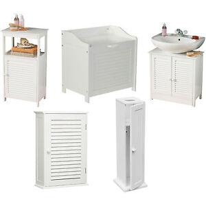 White-Wood-Bathroom-Furniture-Wall-Shelves-Under-Sink-Storage-Laundry-Cabinet