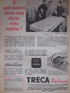 Publicite De Presse 1954 Matelas Treca Pullman Advertising Ebay