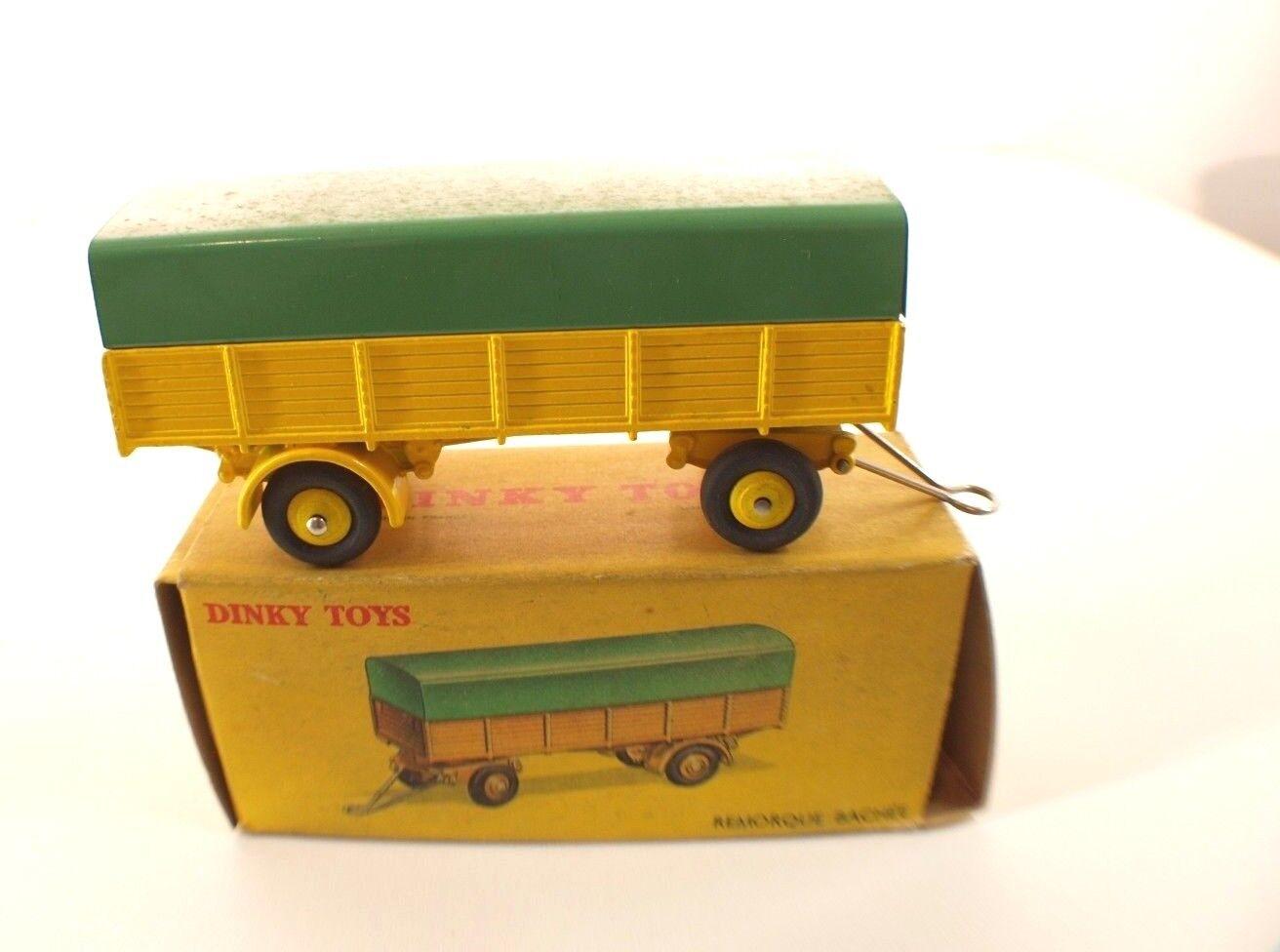 Dinky Toys F 70 remorque bâchée peu joué en boîte