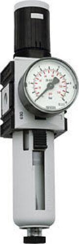 """Druckregler 1//2/"""" mit Manometer von 0,5-16 bar"""