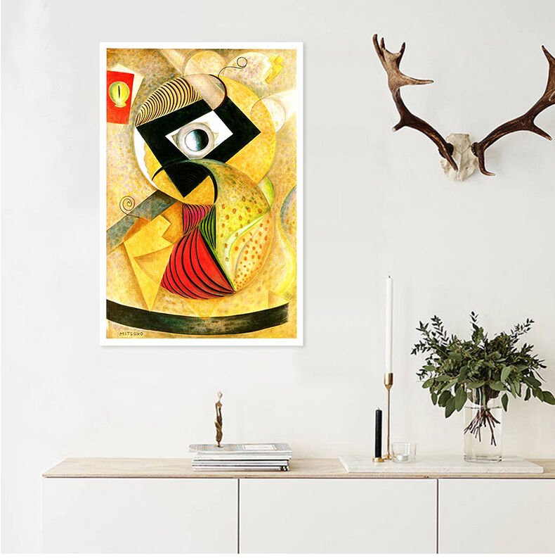 3D Gelb Muster Kunst Plakat 86 Fototapeten Wandbild BildTapete AJSTORE DE Lemon