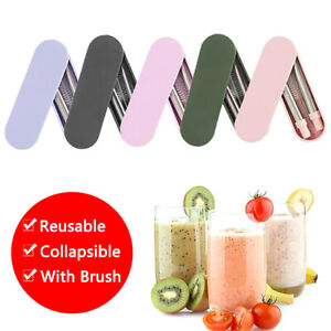 Portable-Reusable-Collapsible-Telescopic-Straws-Metal-Straw-amp-Brush-Storage-Box