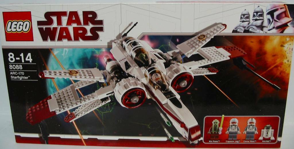 NEU LEGO® Star Wars™ 8088 ARC-170 Starfighter OVP