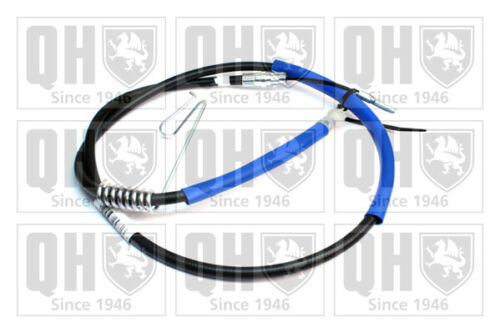 Handbrake Cable fits FORD TRANSIT 2.4D Rear Left 06 to 14 Hand Brake Parking QH
