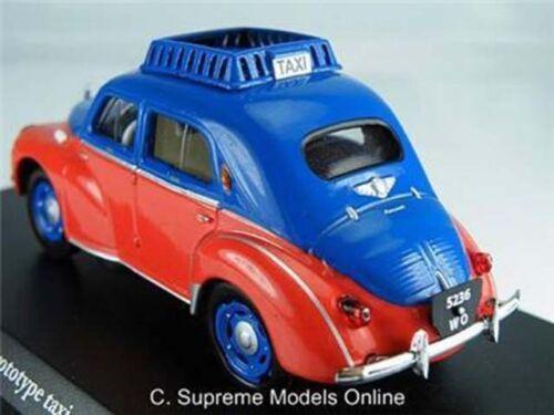 Renault 4CV prototipo taxi 1953 Coche Modelo 1//43RD escala empaquetado problema K8967Q ~ # ~