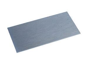 "Proops Wood Cabinet Scraper Carbon Steel 4"" x 2"" Rectangle UK Made W3342"