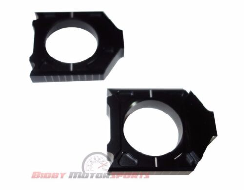 Yamaha yz450f yz250f yz 250f 450f Billet Axle Blocks Black