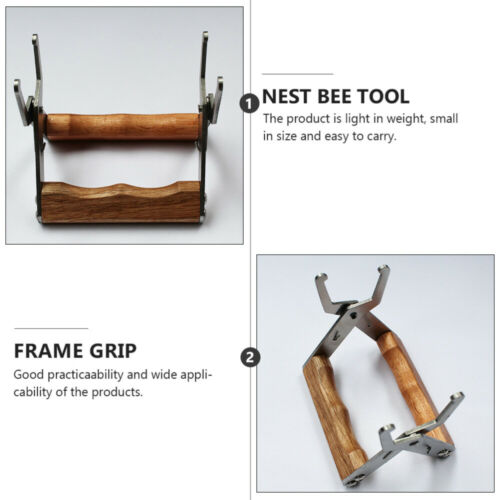 Beehive Bee Frame Clip Beehive Frame Holder Lifter Capture Grip Beekeeping Tool