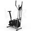 miniatura 26 - Deluxe 2-in - 1 Cross Trainer & Cyclette Allenamento di cardio fitness con sedile