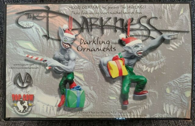 The Darkness DARKLING ORNAMENTS for Christmas Anti ...