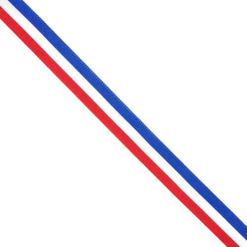 Pulsera bandera Francia French Flag Bracelet 15mm tela