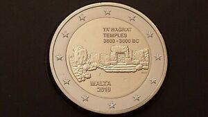 2-euro-2019-MALTA-Malte-Ta-Hagrat-temples-siti-preistorici