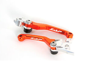 ZAP Kupplungshebel+Bremshebel Klapphebel Flexhebel Ktm Brembo Orange