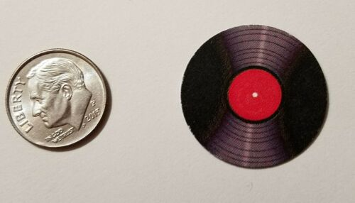 "Dollhouse Miniature Record Album 1/""  1//12 scale Barbie  Aerosmith Greatest Band"