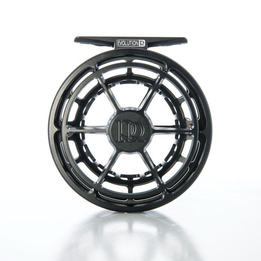 Nuevo-Ross evolución R 3 4 Reel en Negro para 2-4 Peso-Gratis  100 Línea Mosca