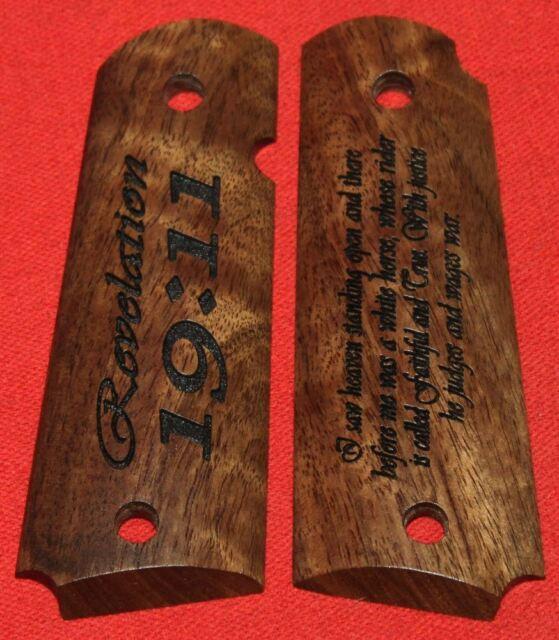 Colt Firearms Full Size 1911 Government / Commander Grips Revelation 19:11