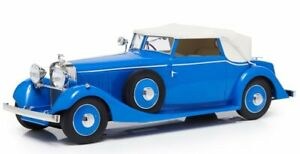 HISPANO SUIZA J12 Three-Positions Drophead Coupe - blue - ESVAL 1:43