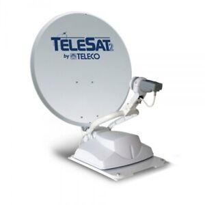 Teleco Telesat TV 65 Completamente Automatico Antenna Satellitare Sistema 65cm