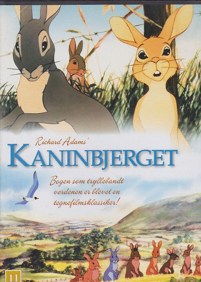 Kaninbjerget , DVD, tegnefilm