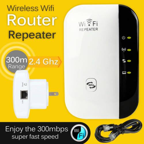 Wifi Range Extender Repeater Wireless Amplifier 300Mbps Router Signal Booster US