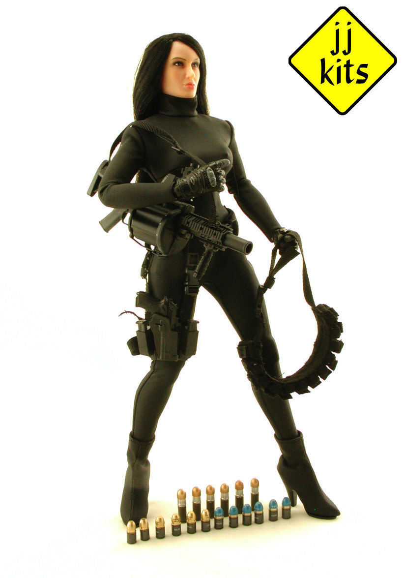 Action Figure JJKITS custom 1 6 - sexy ISOLINA and the MGL-140 Grenade Launcher